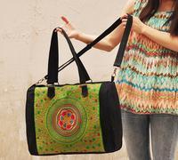 Free shipping Ethnic embroidered shoulder bag ladies bag shoulder bag ethnic specialties wholesale lady style design messenger