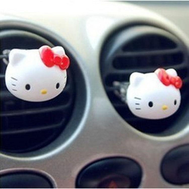 Hello kitty styling car air freshener cologne flavor parking eau de parfum imported perfumes 100 original women Fragrances(China (Mainland))