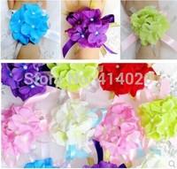 New Arrival10pcs Romantic  Silk Party Decoration Artificial Rose Boutonniere Corsage Wrist Flower Sister Flower For Wedding