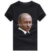 Mr. Vladimir Putin Printed T Shirts Men Short Sleeve O Neck Euro Size Mens Shirt Cotton Casual Man Top Tees Free Shipping
