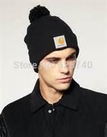 carhhart beanies knit hats winter warm beanie woolen cap men women bonnet cap gorros fashion hip hop style rock hat