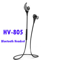 New HV-805 Necklace Wireless Bluetooth Stereo Earphone&Headphone HV805 Bluetooth Headset With Retail Box