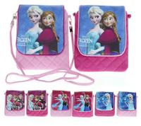 Frozen Children Messenger Bag Pouch cartoon cute little girls shoulder bag 17 * 14cm 41004910339 201411HX