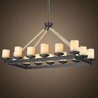 European and American creative living room chandelier  8128D8-14-1