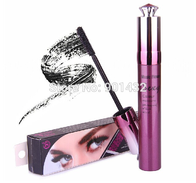 New Excellent Multifunction Black Mascara Make Up Cosmetic For Eyes Waterproof 2067(China (Mainland))