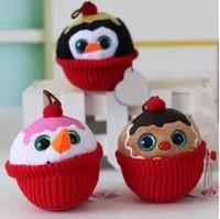 "TY bigeye cake ornaments doll 3pcs / lot 8cm (3.15 "") plush toy birthday gift to send their children AB102"