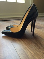 women high heel sexy high heels woman Black Nude Red pumps luxury famous brand evening prom party wedding bride genuine leather