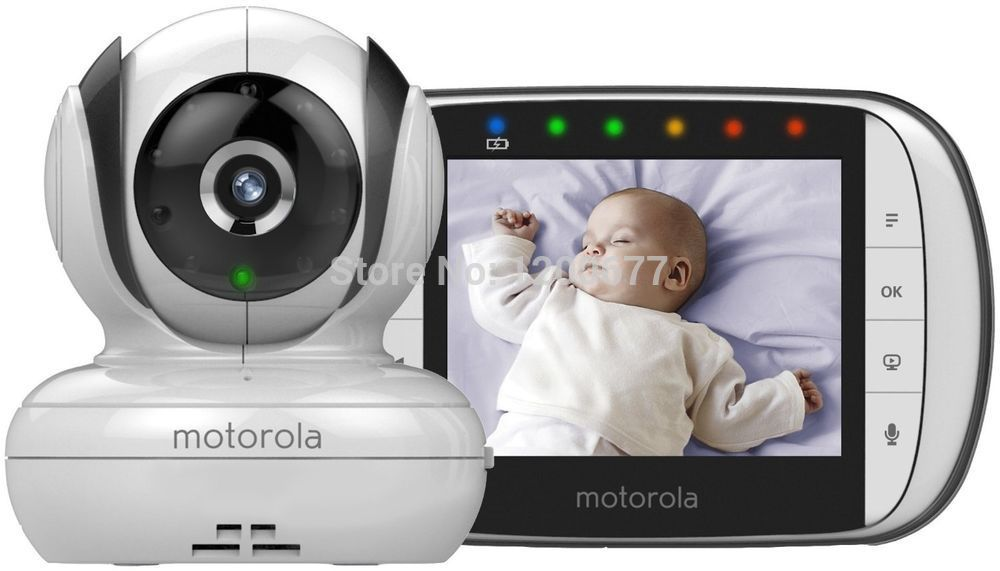 Радионяня Baby Monitors Motorola MBP36S 2.4g wireless/3.5inch/music/nightvision eletronic & Fetal Doppler,MBP36S