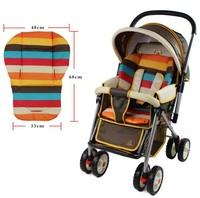 Waterproof cushion Baby stroller seat pad Liner Car Seat Pad Rainbow general thick mat Pad Pram Padd