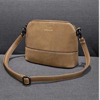 2014 shell bag Small vintage bag female messenger bag women's nubuck leather handbag mini bags