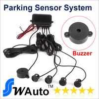 New Parking Assistance Sensor Electromagnetic Di di voice sound Car Parking Reverse Backup Radar Sensor U-058 Free shipping