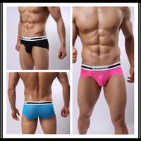 fashion mens sexy briefs  men's breathe underwear