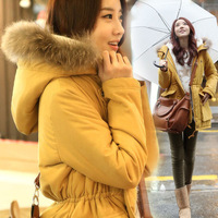 2014 Winter new Korean long section of thick cashmere fashion casual warm coat jacket