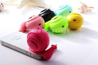 Snail body type Portable 3.5mm Mini Stereo Speaker mobile audio Speaker