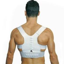 Men Women Magnetic Posture Support Corrector Back Belt Band Pain Feel Young Belt Brace Shoulder for Sport Safety Best Deal 1pcs