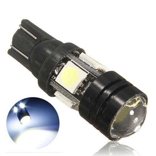T10 4SMD 5050 CREE LED Bulb Lamp Xenon White 12V Parking License Plate Light Free shipping(China (Mainland))