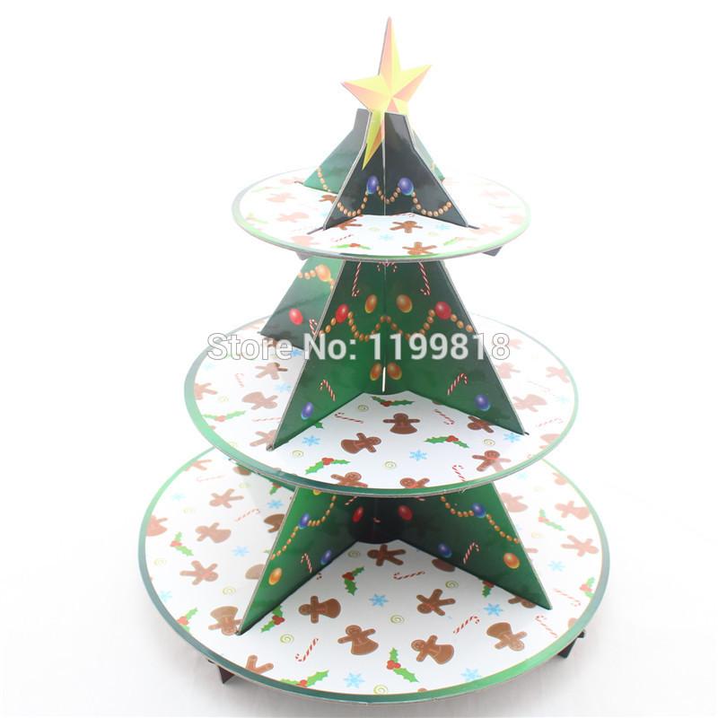 3 Tiered Christmas Cakes 3 Tier Christmas Theme