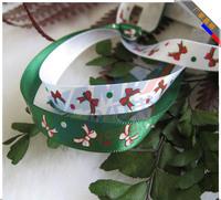 "100 yards 9mm(3/8"") Silk ribbon Christmas packaging lanyard"