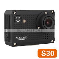 Sport Cameras Sport DV S30 Action Camera Diving 30m Waterproof Camera 1080P Full HD Helmet Camera Underwater