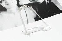 2014 Fashion hot sale womens mens 18k gold big arrow charm bracelets bangle Girl Jewelry -Free shipping