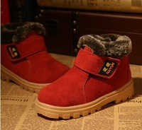 Winter children's boots boots shoes leather boots boys girls