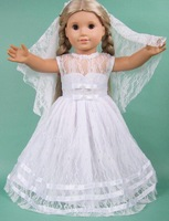 "Free shipping!!!  18"" American girl doll clothes/dress Give children the best Christmas gift B9"