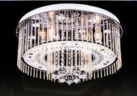 Led ceiling light bedroom lights crystal lamp round brief modern light lamps lighting