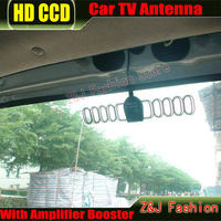 Car DVB-T ISDB-T Digital TV Antenna Active TV Antenna with Amplifier special, F connector for Europe Car Antenna ZJ