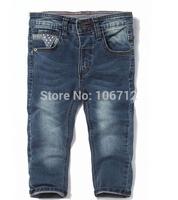 2014 new za6321 Free Shipping children 's jeans cotton Denim kids jeans boys girls pants trousers 2/3t 3/4T 4/5T 5/6T 7/8T 9/10T