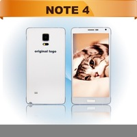 DHL Free Shipping 100% clone Note 4 MTK6592 Octa core phone IPS HD Quad core MTK6582 3G RAM Android 4.4 3G WCDMA metal frame