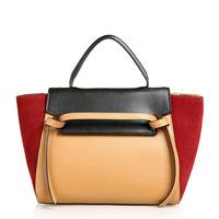 2015 fashion designer handbags shoulder bags casual genuine leather bag women messenger bags tote bolsa feminina