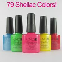 Choose 20PCS 47Colors Available Free Shipping! New arrival Fashion colors CND Shellac Soak off UV LED Nail Gel Polish 20pcs/lot