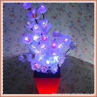 Lighting fibre flower plum blossom