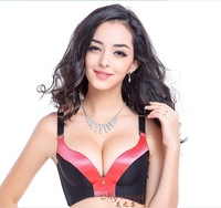sell like hot cakes contrast color Seamless  without rims bra, Push Up adjust (New product trial promotion)
