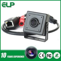 1080p HD mini hidden h.264 p2p  poe pinhole small ip camera for ATM   ELP-IP1892-POE
