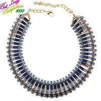 2014 New Arrival Fashion ZA Big Brand Crystal Mental Fashion Good Quality Collar Choker Clain Shourouk Skeleton Jewelry 9576