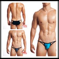 Cutout mens underwear low-waist men briefs panties tight slim hip briefs sexy gay men underwear