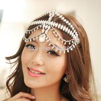 2015 European style Gorgeous Beauty crystal tiaras wedding bridal diadem wedding dress rhinestone crown frontlet hair jewelry