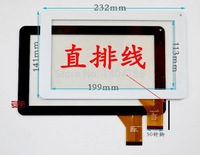 Brand new 10-inch tablet PC touch screen HS1245 VO TJ9  external screen capacitance screen black and white free shipping