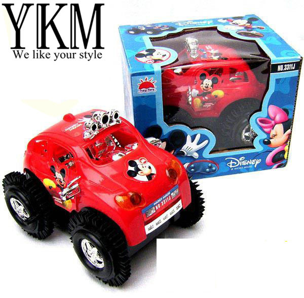 YKM freeshipping 2 colors for choice classic electronic car baby toys, mini skip car toys for children dump truck & Toy vehicles(China (Mainland))