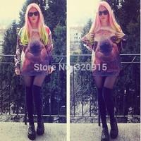2014 New high quality fashion Women/Men Christmas koala Print 3D Sweatshirts Hoodies Galaxy sweaters Tops Free shipping