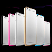 Feitong Hot Sale New Luxury Slim Aluminium Metal Bumper Frame Cover Case for iPhone 6 4.7'' Hot