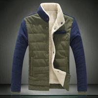 2 Colors ! M L XL XXL XXXL 4XL 5XL 2014 Men Parkas  Free Shipping Quality Winter Warm Fashion Coat for Men
