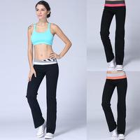 Lulu 2014 NEW Hot Top quality Yoga Groove Pants loose women Sport pants size:2(XXS)-12(XL) gym wear Long Trousers for female
