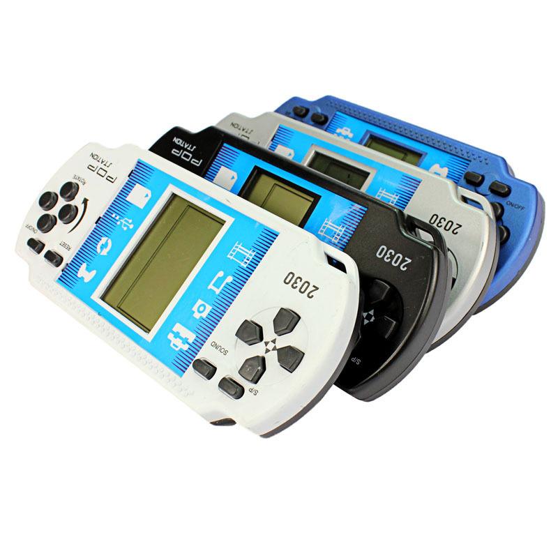 10PCs Tetris game machine Handheld Portable Game Console,Video game machine Console,kids game Console wholesale(China (Mainland))