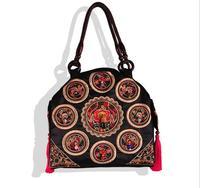Free shipping National shoulder bag ladies bag shoulder bag ethnic characteristics pack meeting customized gifts lady handbag