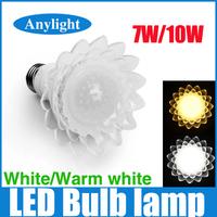 High quality 7W/10W Led Lamp E27 White/ Warm White High Power Lamp WSP42