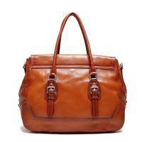 new arrival lady bag cowhide pocket women 2014 zipper handmade direct 100% Genuine leather shoulder handbag messenger bags