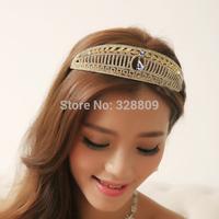 Cheap!!! Fashion nobility princess purple crystal tiaras wedding charming diadem wedding dress rhinestone crown jewelry