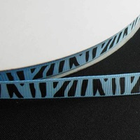 "Free Shiiping -5/8""(16mm) 100yards Grosgrain Ribbon Printed Zebras Design  For Wedding Crafts"